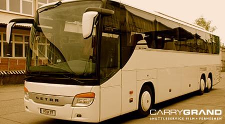 Shuttle Service Potsdam mit großem Bus